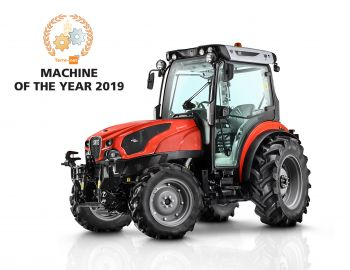 Click to enlarge image 01_SAME Frutteto CVT ActiveSteer_115_Machine of the Year 2019_SIMA_en.jpg